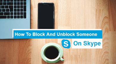 how to block and unblock someone on skype