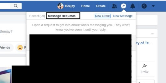How To Find Message Request On Messenger