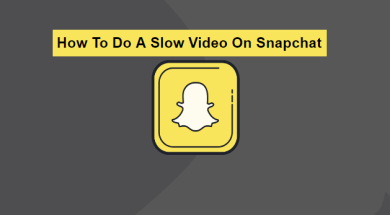 how to do a slow video on snapchat