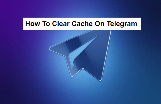 how to clear cache on telegram