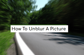 how to unblur a picture