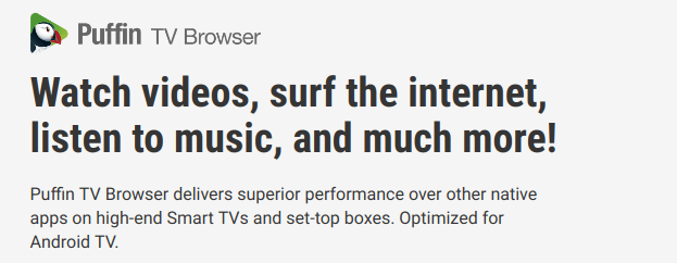 Smart TV Browsers