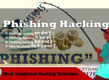 Phishing hacking