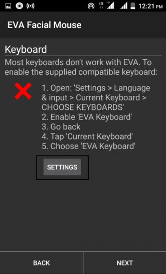Set Language input mode