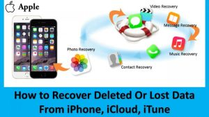 iPhone Data Recovery Software   iPhone से Deleted या Lost Data को कैसे Recover करे