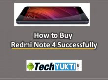 how to Buy Redmi Note 4 Smartphone