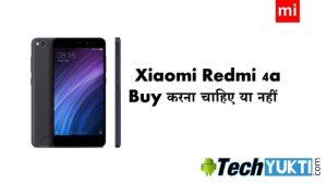 Redmi 4a Smartphone Top 5 Pros & Cons in Hindi