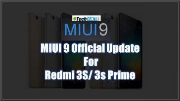Redmi 3S Aur 3S Prime Me MIUI 9 Update Kaise Kare