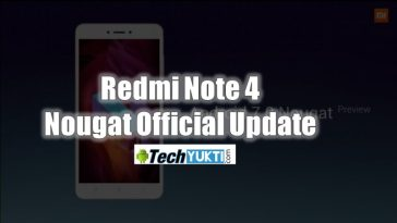 Xiaomi Redmi Note 4 Nougat Official Update In India | पूरी जानकारी हिंदी में