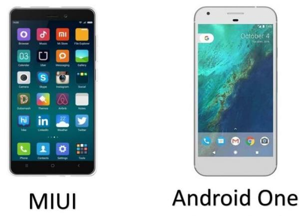 android One and Miui UI