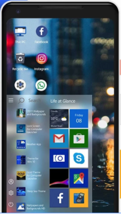 Android phone launcher