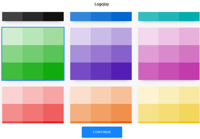 Select logo color