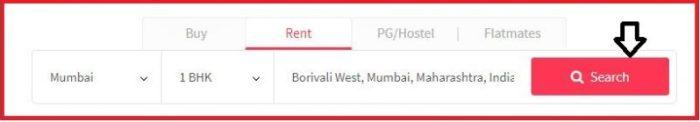 enter rent details