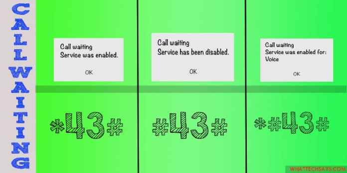 Enable Call Waiting on Android