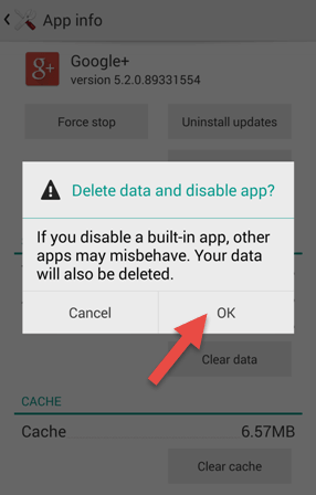 Disable Android Apps Without Uninstalling