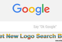 Get New Logo Google Search Bar