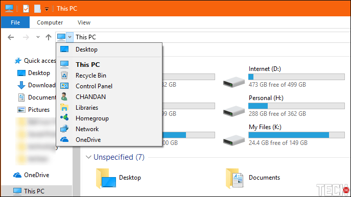 How to Open Control Panel from File Explorer