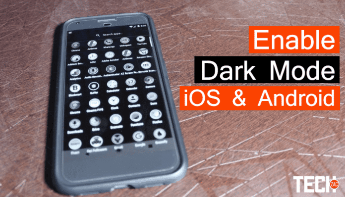How to Enable Dark Mode
