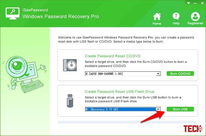 iSeePassword Windows Password Recovery