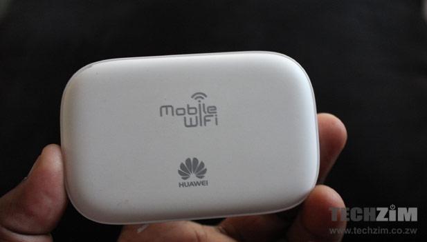Econet Huawei E5332 back