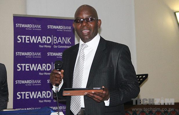 EcoCash CEO Cuthbert Tembeza announcing EcoCash loans