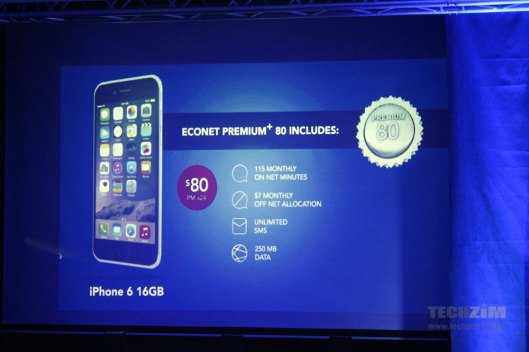 iPhone 6 now available on contract at Econet