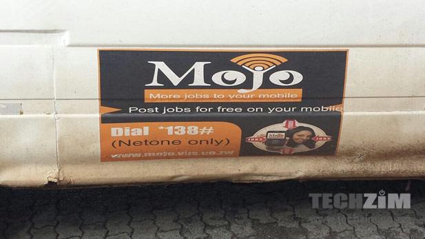 Mojo NetOne SMS Job Service