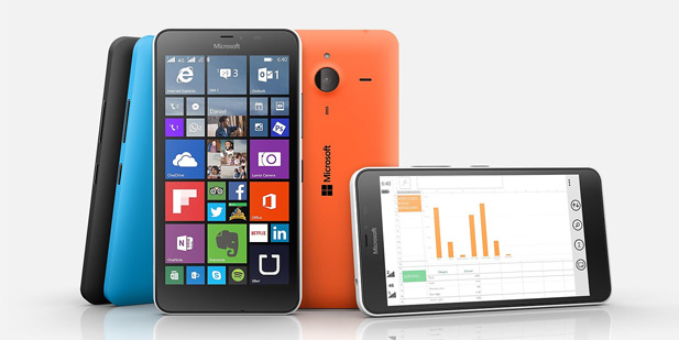 Lumia 640 XL LTE image credit: Microsoft