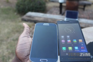 The GTel SL 5.5 Xtra and the Samsung Galaxy S 5
