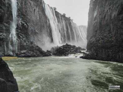 Victoria Falls taken by ZTE AXON Pro