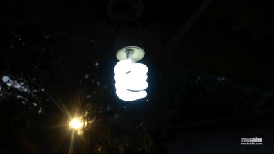 Light bulb taken with an LG G4