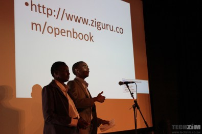 Openbook Team presenting