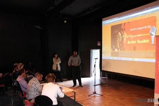 iCreate Team presenting