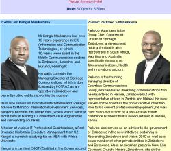 Computer Society of Zimbabwe Function - Spiritage