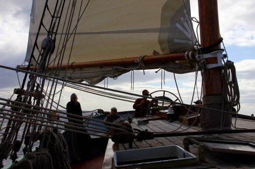 changing weather on board the Tecla