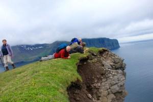 Tecla crew exploring the Horn of Hornvik