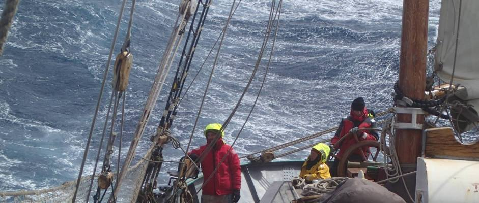 tecla sailing around cape horn 2013