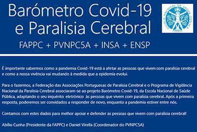 BARÓMETRO COVID-19 E PARALISIA CEREBRAL