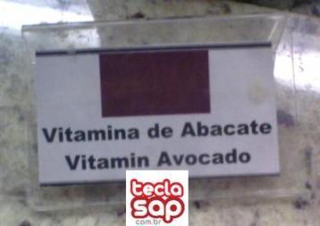 Troca a placa! Vitamina de abacate