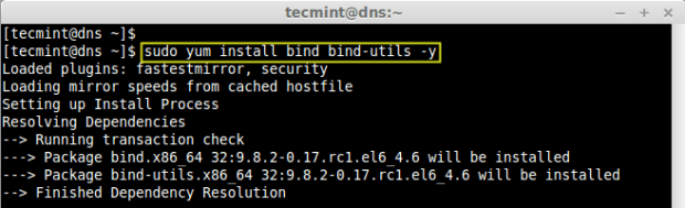 Install Caching Only DNS