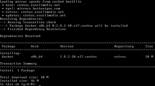 Install Docker on CentOS and RHEL 7