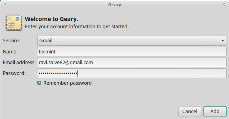 Geary Email Client for Linux