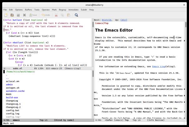 Editor de Markdown do Emacs para Linux