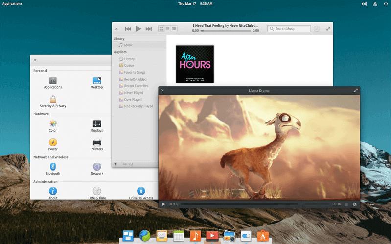 Elementary Pantheon Desktop