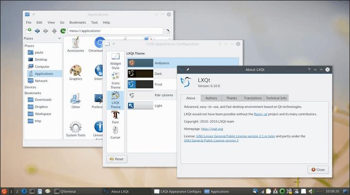 LXQT Desktop
