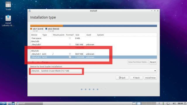 How to Install Linux OS on USB Drive and Run it On Any PC