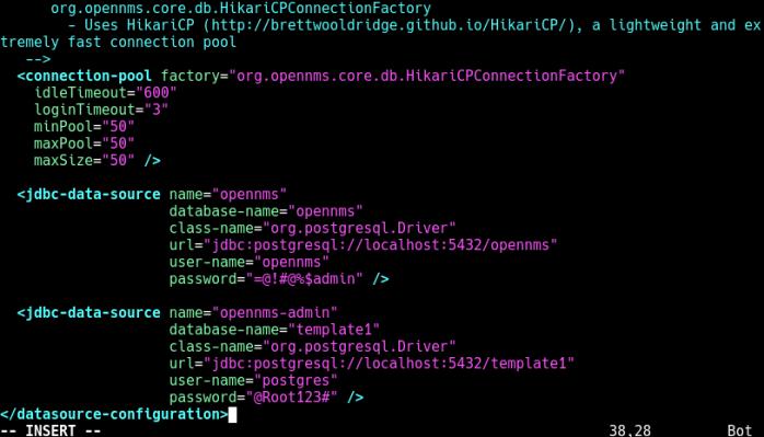 Configure Database Access