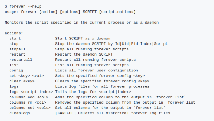 Forever Run Scripts Continuously