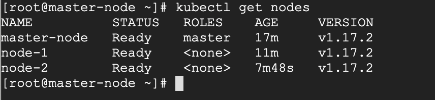 Überprüfen Sie den Kubernetes-Clusterstatus