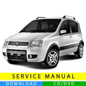 Fiat Panda service manual (20032012) (Multilang
